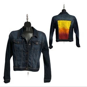Wax Jean Basic Denim Jacket / Size Large